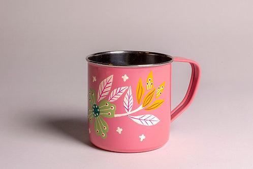 Floral | Tin Mug