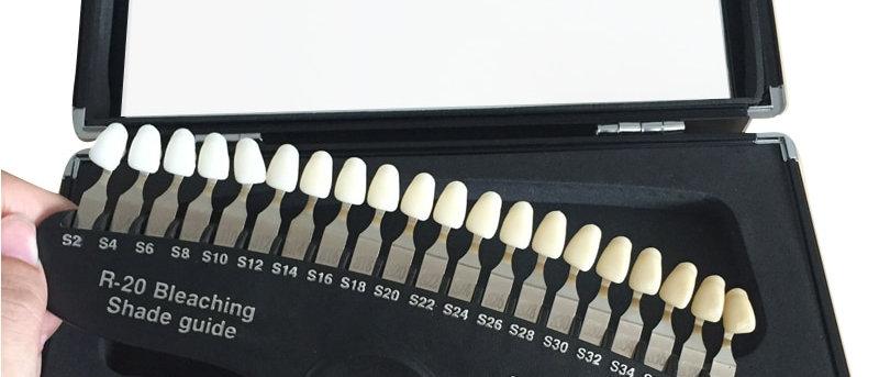 Nuancier Blanchiment Dentaire