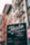 Taste of Tribeca 2016 signage