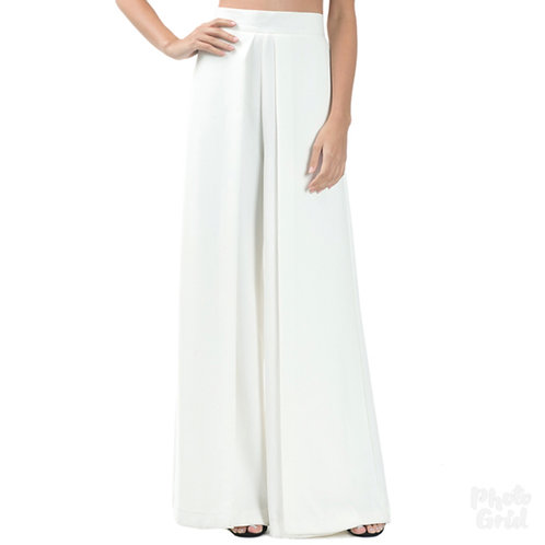 The Draped Palazzo Pants