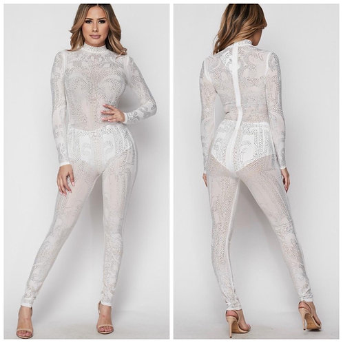 Silver and Gold Jumpsuit
