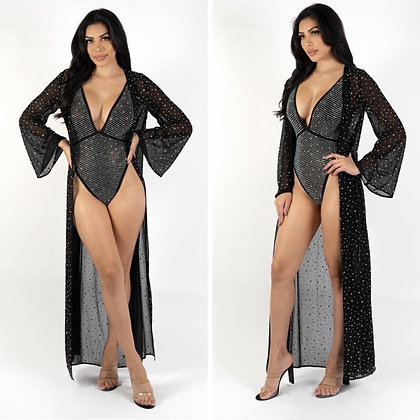 Miami 2 piece Bodysuit & Duster