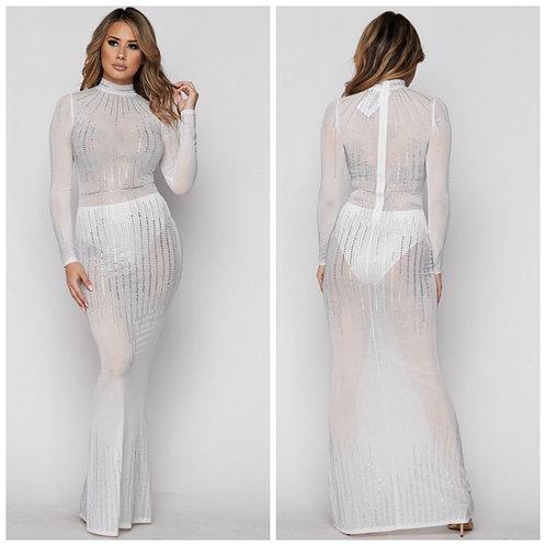 Maxi Iridescent Dress