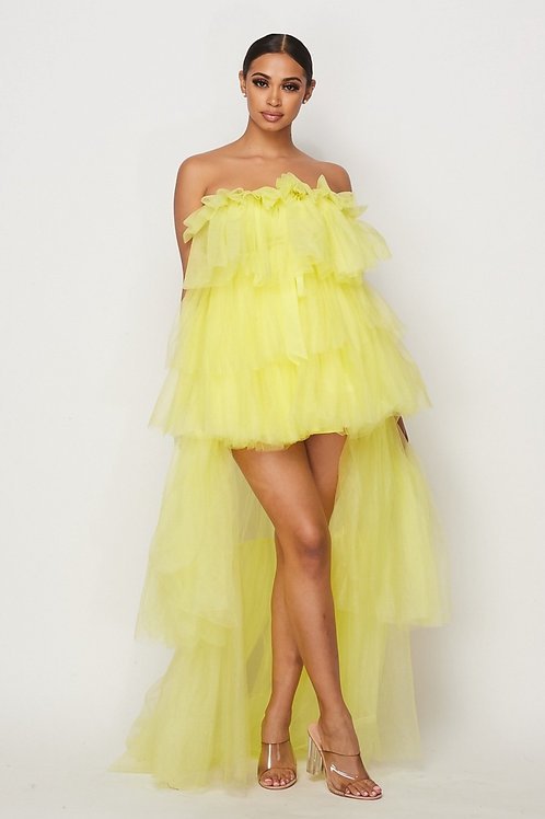 The Tule Dress