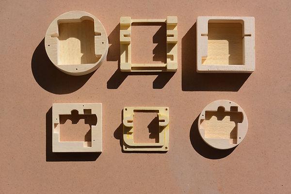 Aeromodelli scatole porta servi