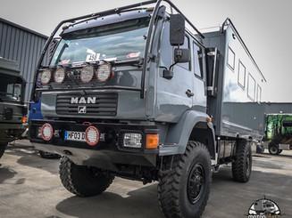 Man Dakar truck