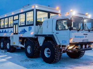 MAN KAT1 Ice Bus