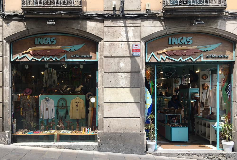 Shopping in Barcelona at INCAS