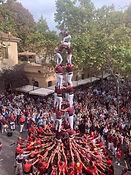 Catalan people building a human tower.JP