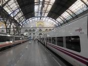 A Renfe train in Barcelona.jpg