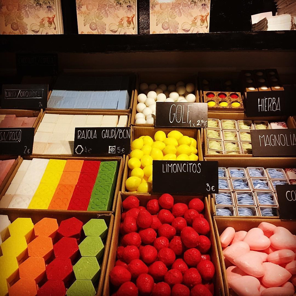 intriguing shops of Barcelona