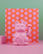 A pink fortune cat from Fortune Cat in Barcelona.JPG
