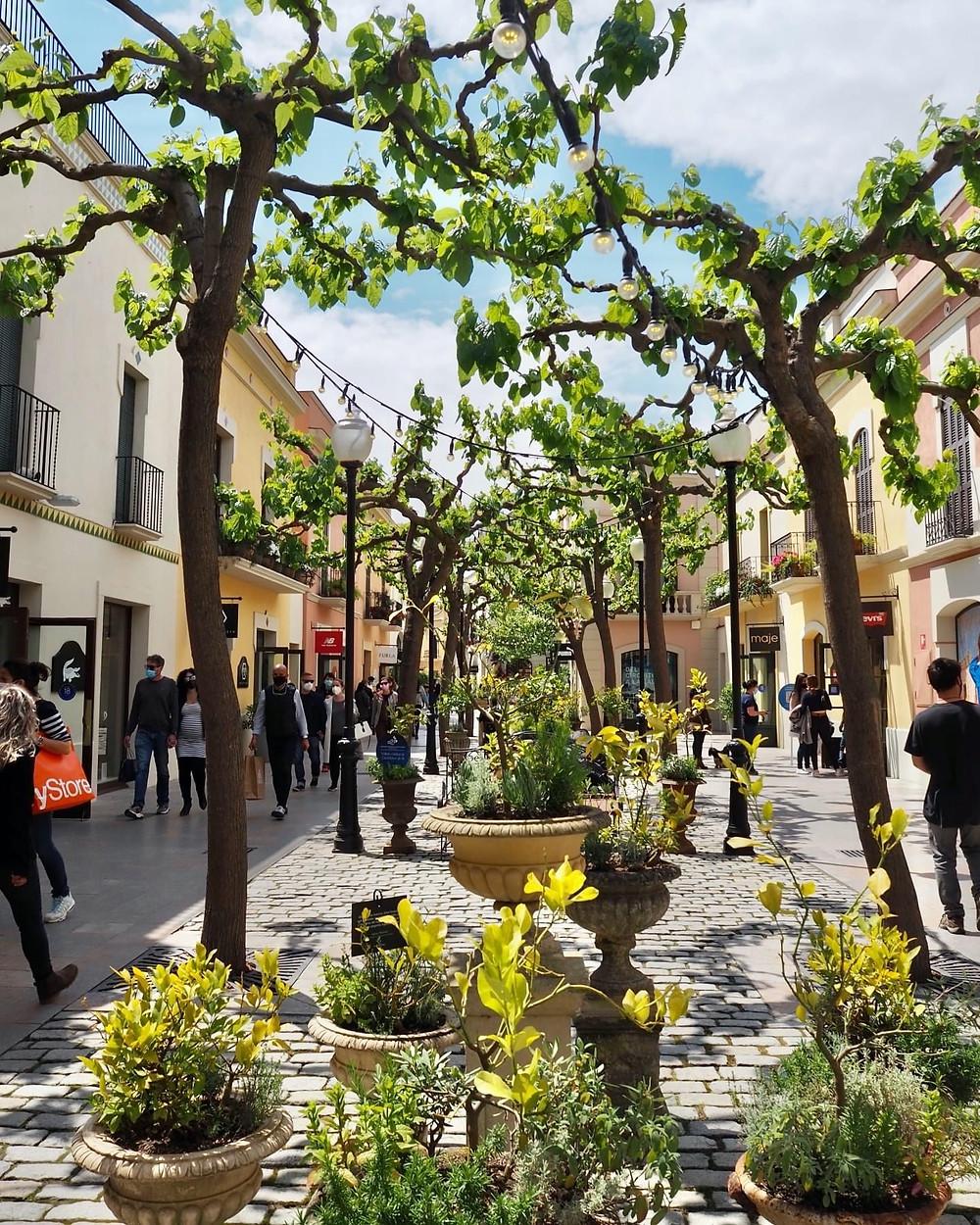 Designer outlet shopping near Barcelona at La Roca Village