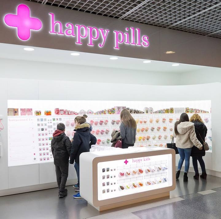 Happy pills : Intriguing boutiques of Barcelona