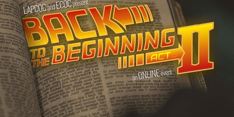 Bible Quiz 2021: Back to the Beginning Act II