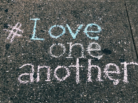 What Christians Do — LOVE ONE ANOTHER