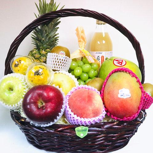 Premium Mid-Autumn Sparkling Fruit Basket