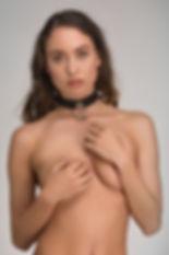 Leren bondage halsband – Submissive