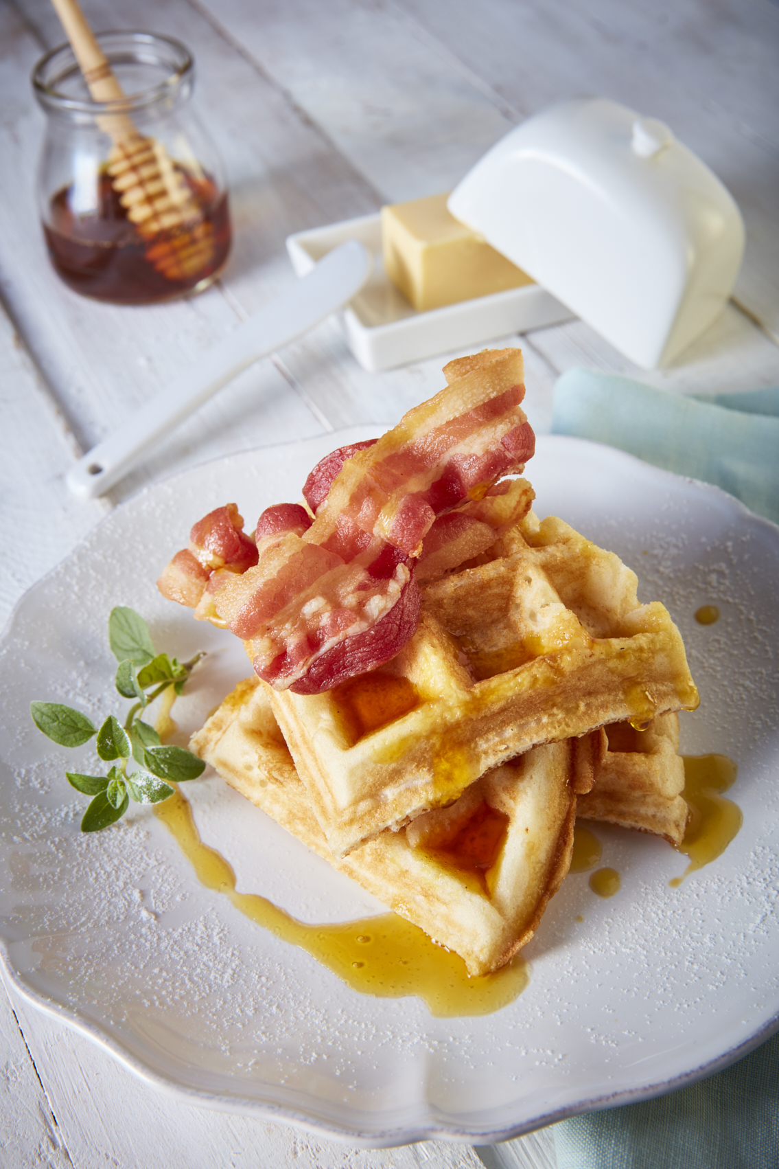 Waffles de papa con tocino-Corregido