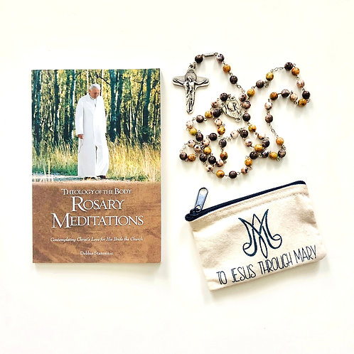 Theology of the Body Rosary Meditations Gift Set
