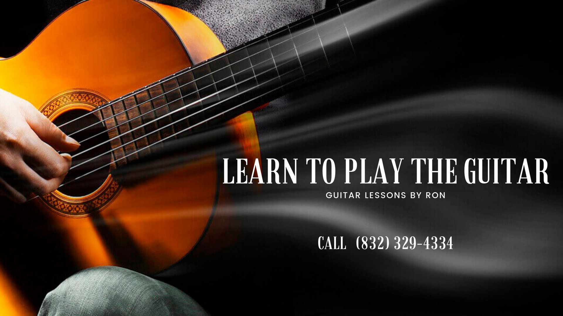 Guitar Lessons By Ron - Book Today!
