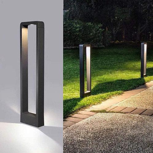 "Borne Lumineuse extérieur design' ""Black Rectangle"""