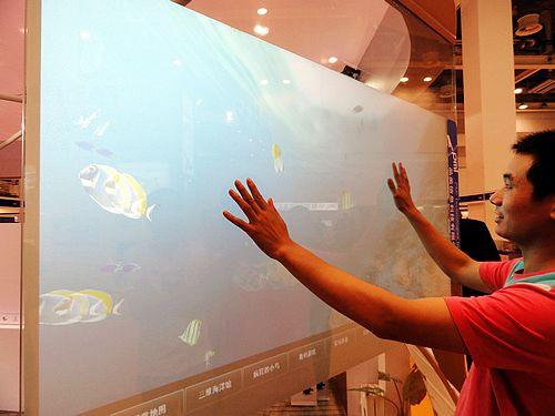 vos vitres deviennent interactives et intelligent, domotique, capteur, et détection de mouvement