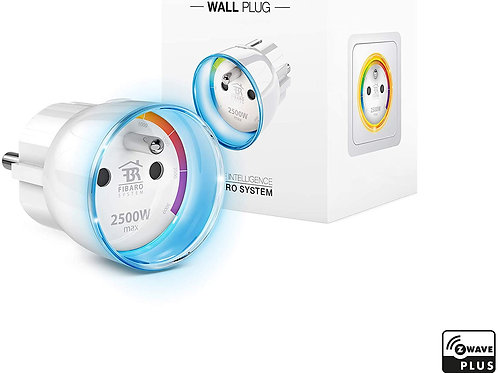 FIBARO | Wall Plug/ Prise Intelligente Type E, Z-Wave +