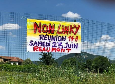 23 Juin à 14 h - Réunion d'information Compteur Linky