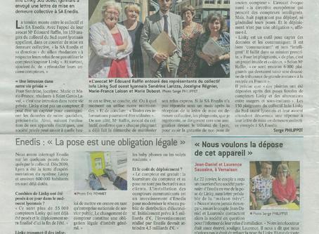 Linky - Mise en demeure collective région Lyonnaise