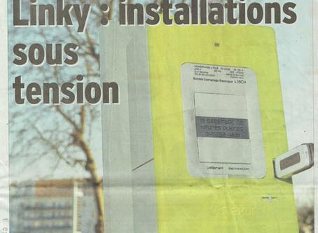 LINKY dans le Dauphiné Libéré 2 grandes pages !!!