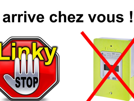 Création du site pour le collectif anti Linky de Réaumont