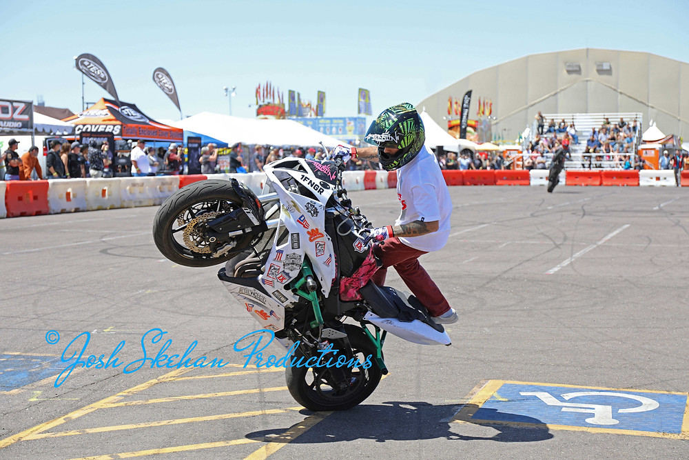 Photography Captured by Josh Skehan Production at AZ Bike Week in Scottsdale, Arizona