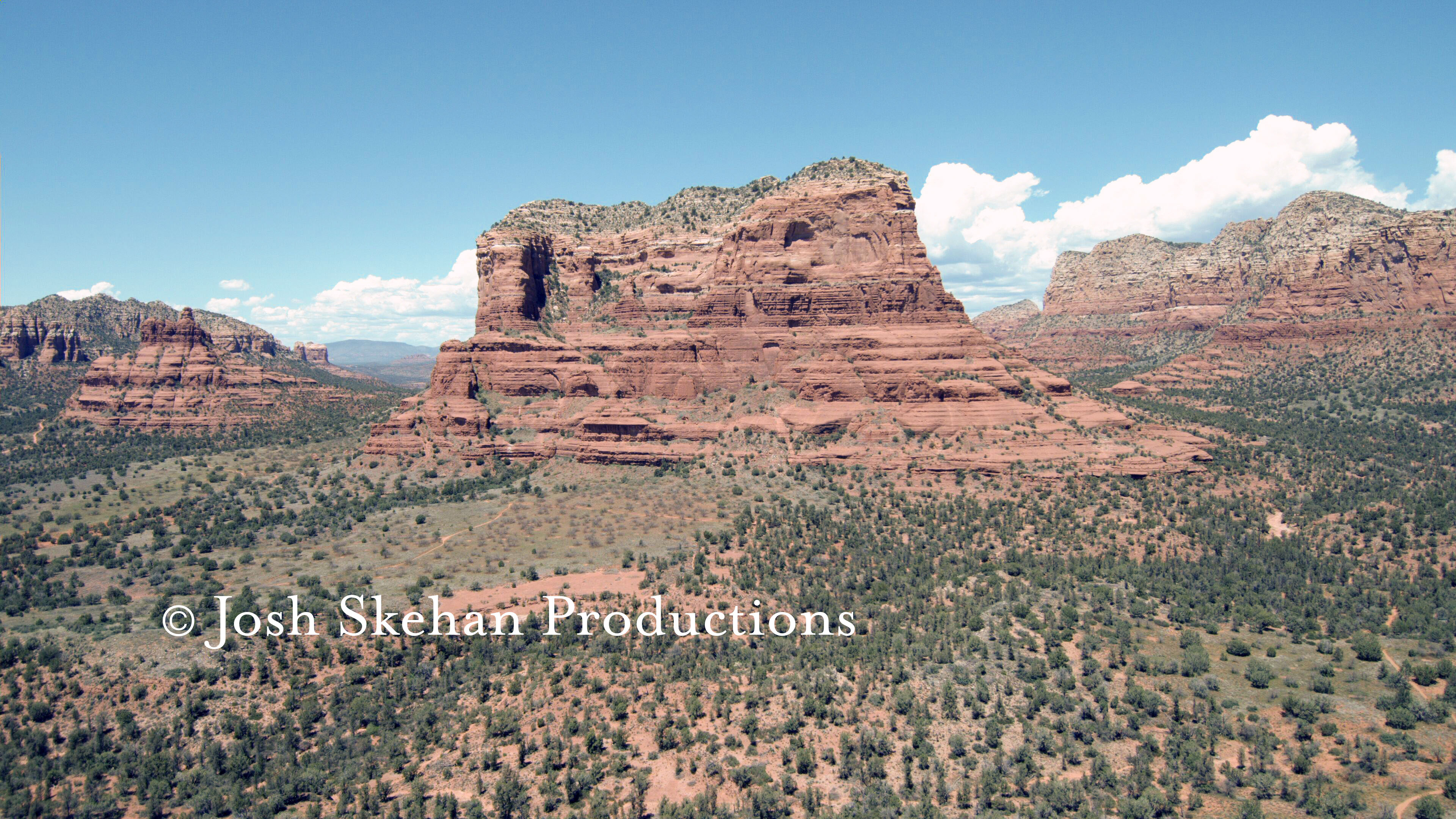 Aerial Video Photography Sedona Arizona.