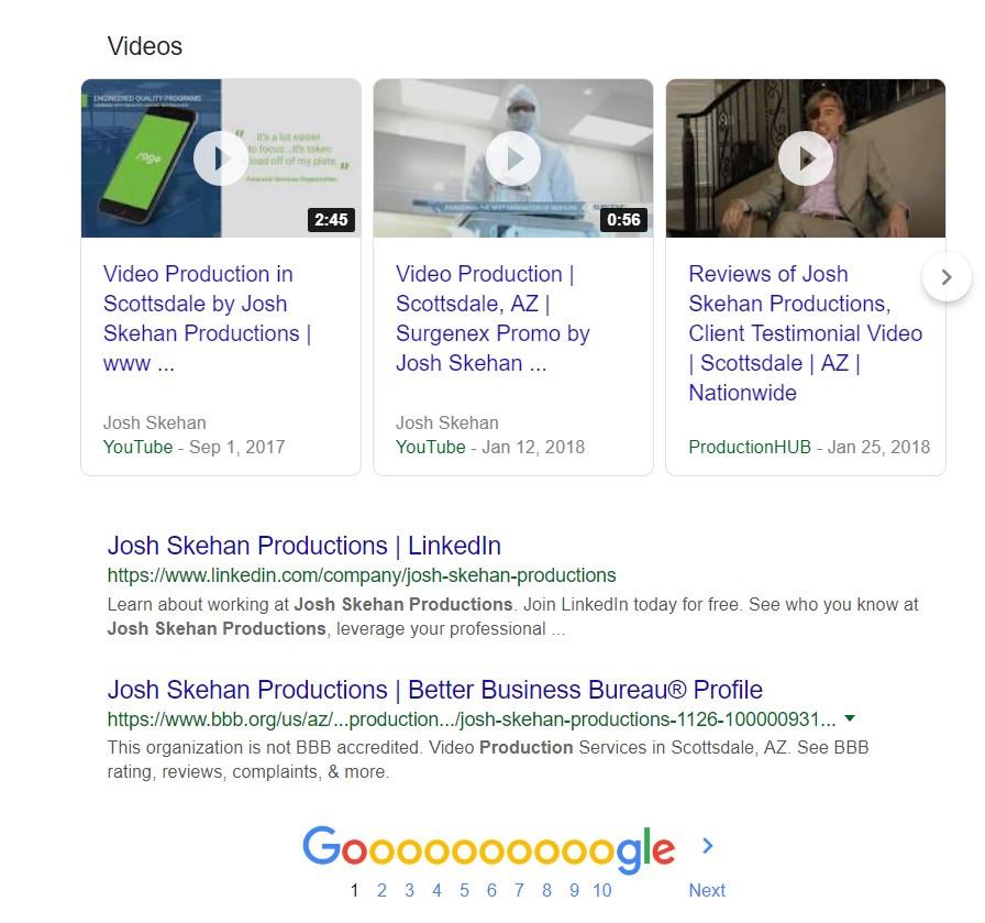Video Production Scottsdale | Josh Skehan Productions