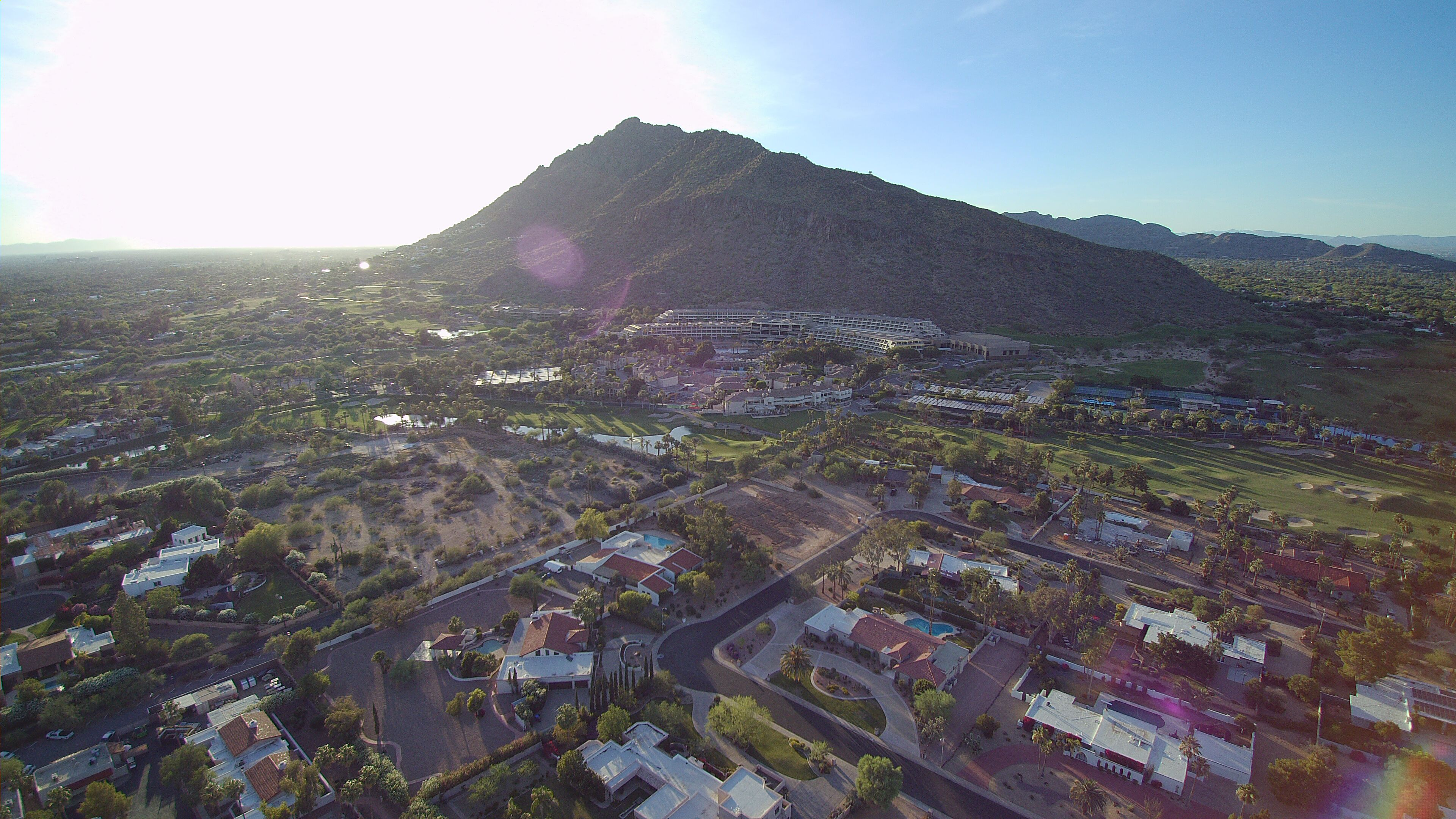4K Aerial Video Arizona Scottsdale