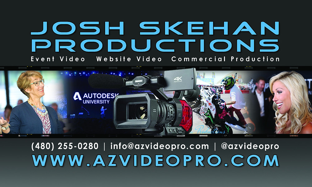 Video Production Scottsdale | Videographer Scottsdale | Josh Skehan Productions