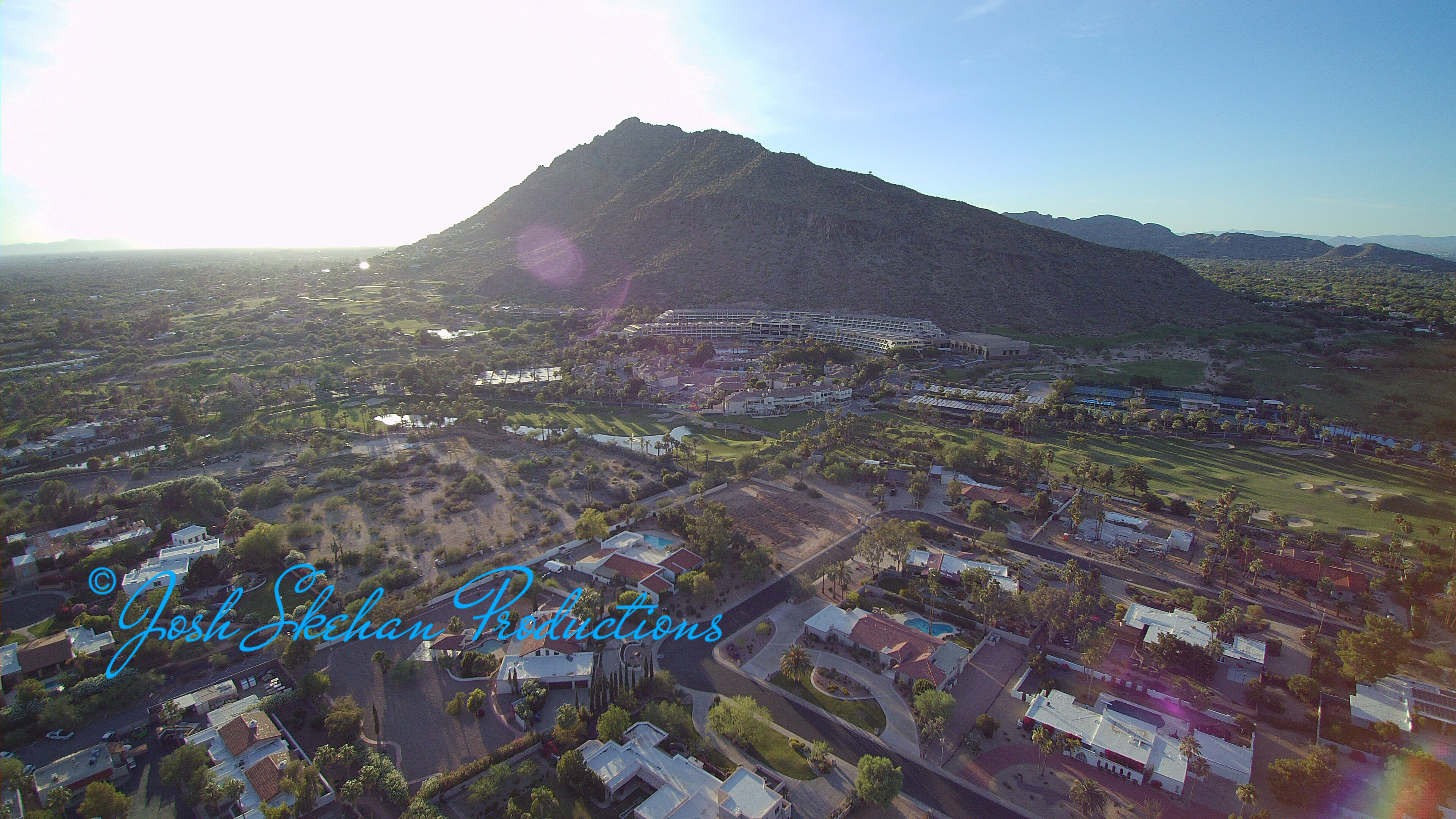 08 Aerial Video Arizona Scottsdale