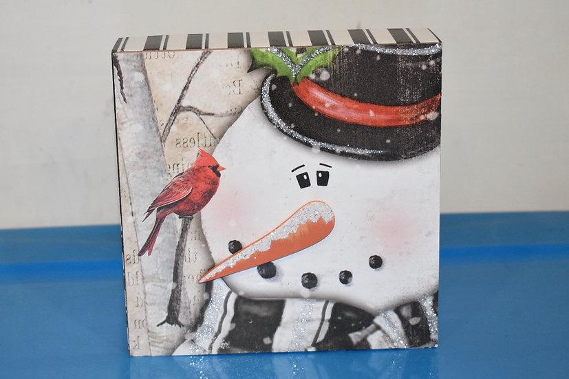 Snowman Cube