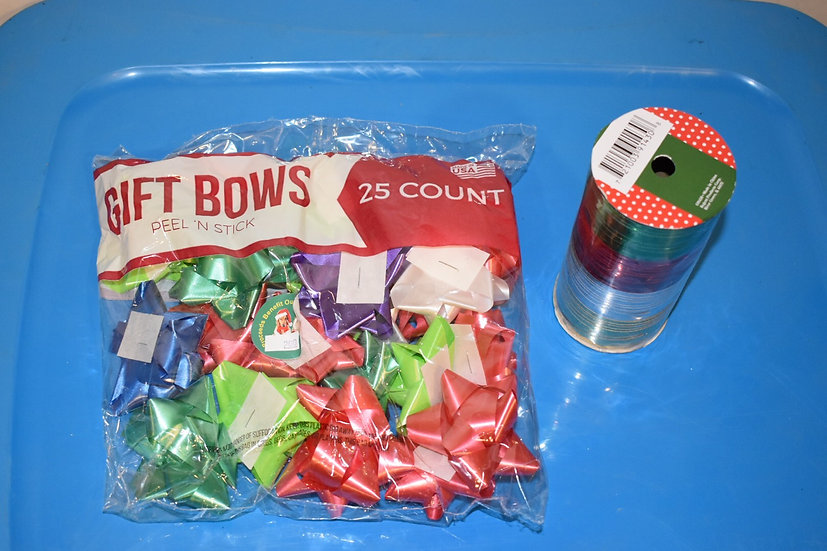 Curling Ribbon and Bows