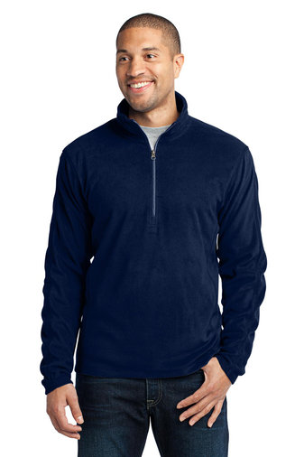 Mens Microfleece 1/2 Zip Pullover