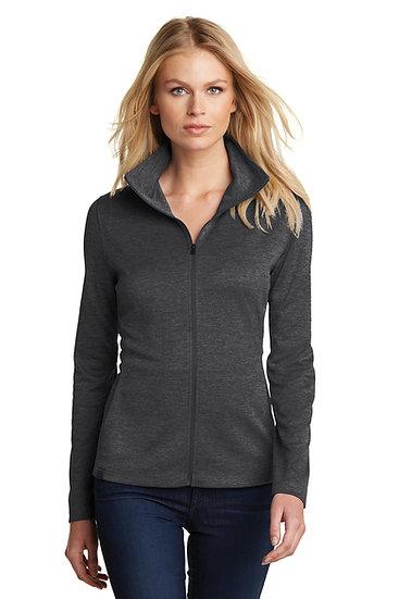 Ladies Full Zip Jacket-Black-FOH