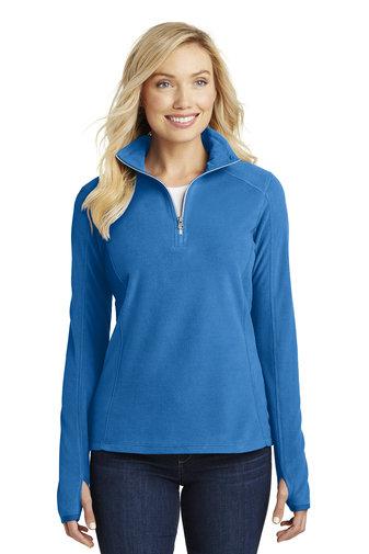 Ladies 1/2 Zip Microfleece Pullover