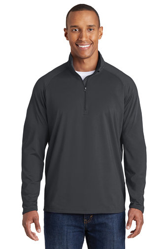 Stretch 1/2 Zip Pullover