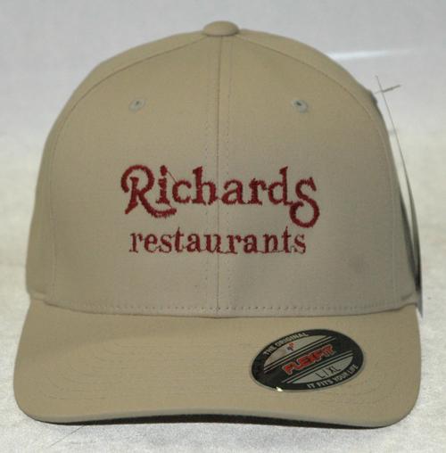 Tan Flex Fit Richards Hat