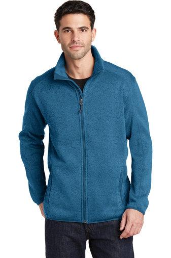 Mens Sweater Fleece Jacket