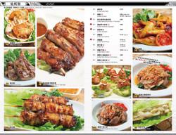 Golden Thai Food Menu Design 餐牌設計
