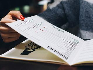 讓你的餐牌設計更有效的六個建議(二之一)
