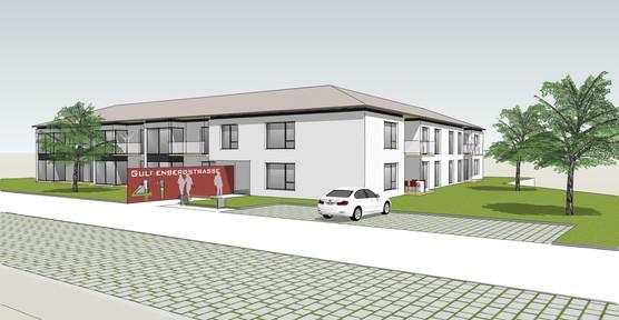 Entwurf Mehrfamilienhaus