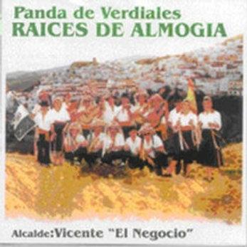 """CD010T  RAÍCES DE ALMOGIA """"Verdiales estilo Almogía"""""""